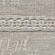 Stock Photo: Homespun linen cloth