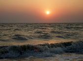 Рассвет на море — Стоковое фото