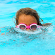 Royalty-Free Stock Photo: Little girl swimming