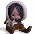 Toon Eskimo — Stock Photo