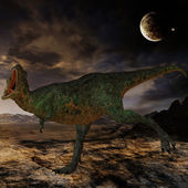 Aucasaurus-3D Dinosaur — Stock Photo