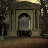 Mystic Cemetery — Stock Photo
