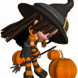 Little Witch — Stock Photo #2753645