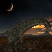 Titanosaurus colberti-3D Dinosaur — Stock Photo