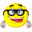 Royalty-Free Stock Photo: 3D Smiley