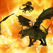 Fantasy Dragon - Stock Photo