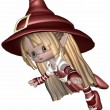 Little Elf - Toon Figure — Foto de Stock