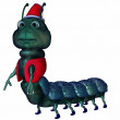 Stock Photo: Toon Caterpillar