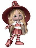 Little Elf - Toon Figure — Stock Photo