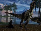 Tyrannosaurus - 3D Dinosaur — Stock Photo