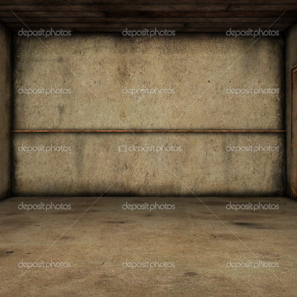 3D Render of an Abandoned Room — Stock Photo #2865739
