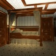 Постер, плакат: Luxury Stateroom on a old Luxury Ship