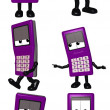 Mobi - The Cell Phone Toon — Stock Photo #2984568