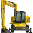 Royalty-Free Stock Photo: Wheel Excavator