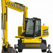 Wheel Excavator - Stock Photo