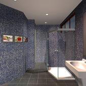Modern House-Bathroom — Stock Photo
