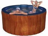 Hot Tub — Stock Photo