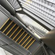 Modern metal stair - Stock Photo