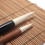 Chinese writing brush — Stock Photo