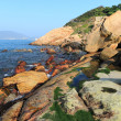 Shek O coast, in Hong Kong, China — Stock Photo