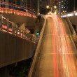 Stock Photo: Freeway system at night