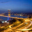 Royalty-Free Stock Photo: Tsing Ma Bridge