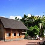 Wooden hut — Stock Photo