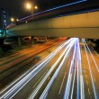 Traffic through downtown — Stockfoto
