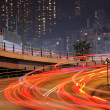 Traffic through downtown in Hong kong — Stock Photo #2785510