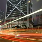 Hong Kong night — Stock Photo