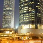 scène de nuit de Hong kong — Photo