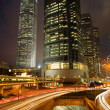 Hong Kong Night Scene - Foto Stock
