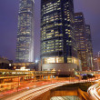 Hong Kong Night Scene — Stockfoto