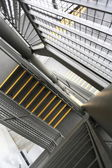 Modern metal stair — Stock Photo