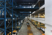 Inside of warehouse — Foto Stock