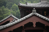 Chinese temple roof — Stock Photo