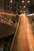 Freeway system at night — Foto Stock