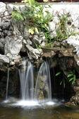Human made waterfall — Stock Photo