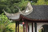 Edifício chinês beirais — Foto Stock