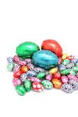 Colorful easter eggs — Stock Photo