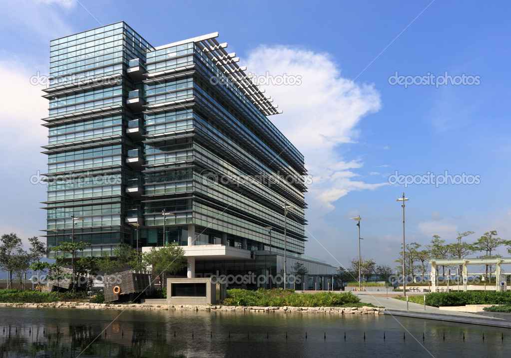 Office building, Hong Kong science park  Stock Photo #2785477