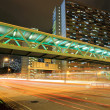 Traffic in Hong Kong at night — Stock Photo #2799122