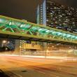 Traffic in Hong Kong at night — Stock Photo #2799122