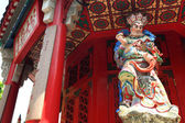 Standbeeld in chinese tempel — Stockfoto