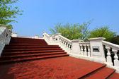 European style building, stair — Stock Photo