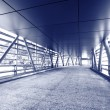 Stock Photo: Modern flyover, blue tone