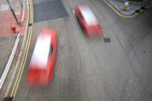 Taxi blur in Hong Kong — Stock Photo