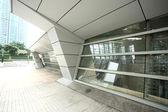 Hong Kong train station — Stock Photo