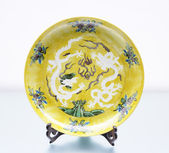 Ming dynasty China Plate — Stock Photo