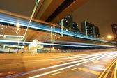 Modern urban city night — Stock Photo